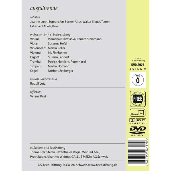 Cantata Bwv 59 Details Discography Part 1 Complete
